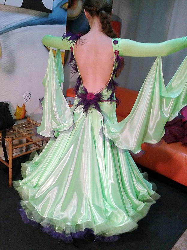 Сшейте себе бальное платье 167