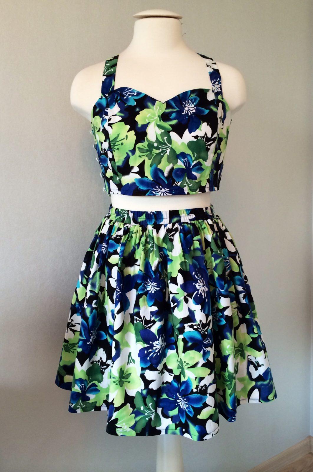 сшить легкое платье на лето своими руками