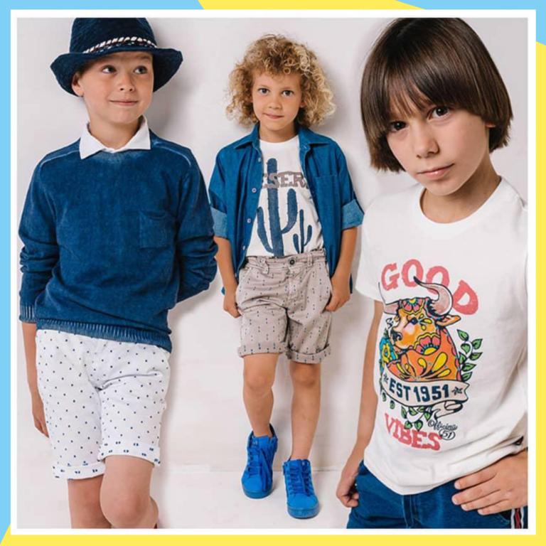 модная детская одежда 03