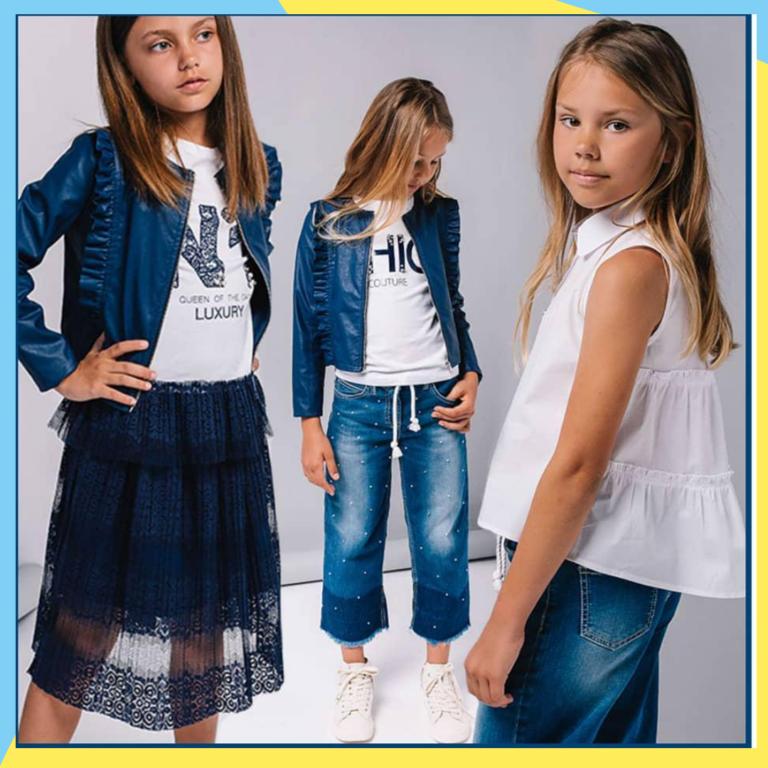 стильная детская одежда 06