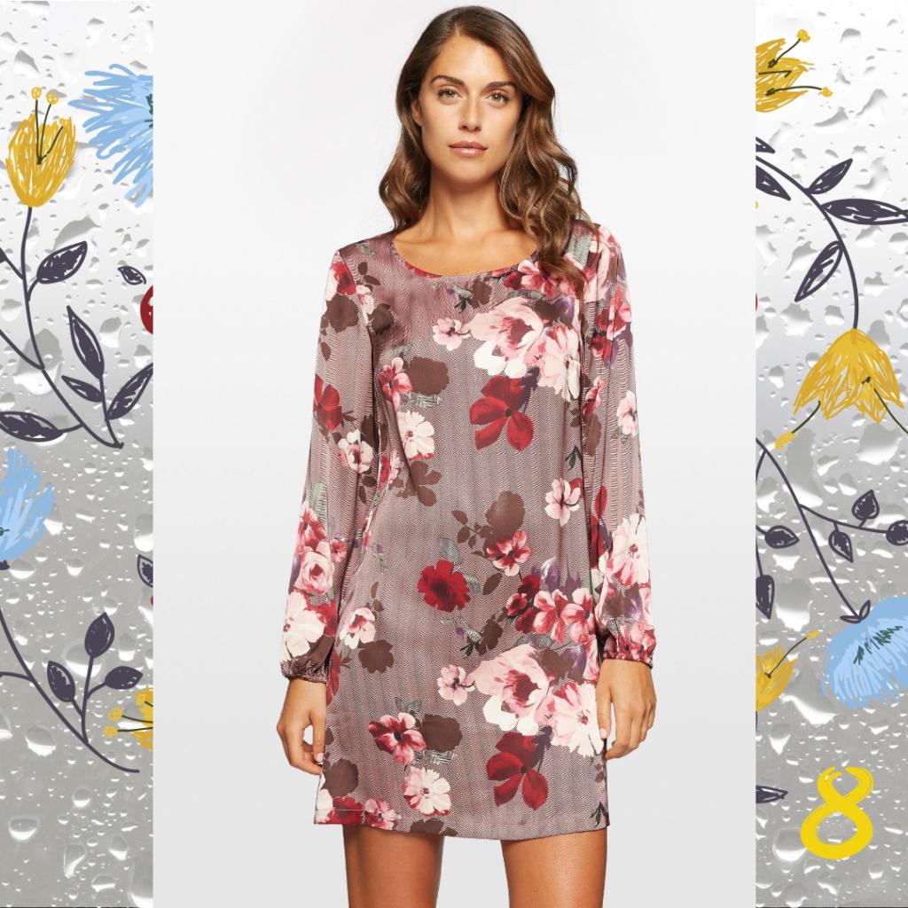 10 неувядающих платьев в цветочек