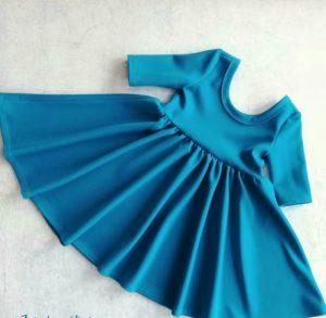 Платье в уменьшенном масштабе