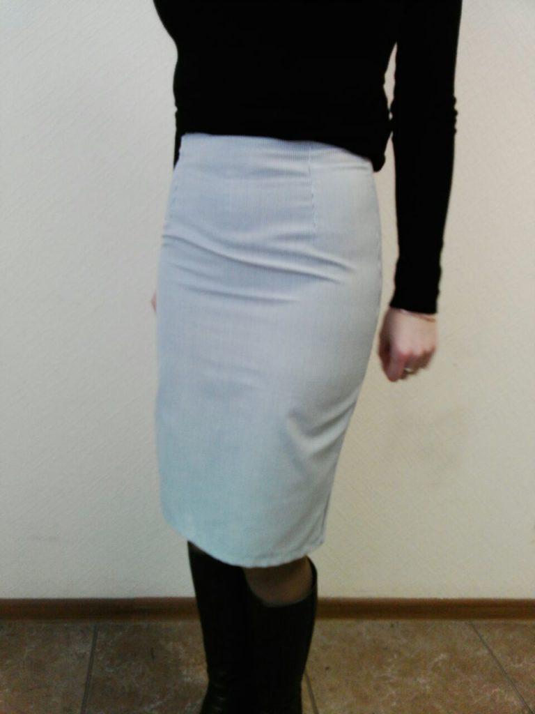 Прямая юбка - учимся строить базовую выкройку