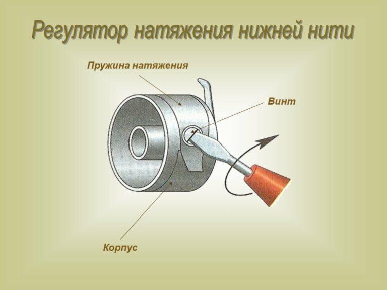 Как отрегулировать натяжение нитей в швейной машинке самому
