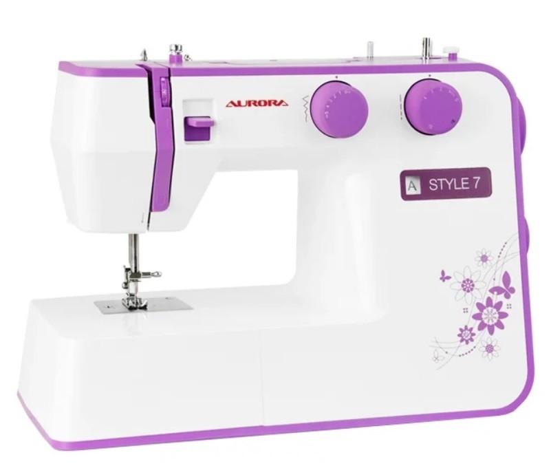 ТОП-5 швейных машинок для начинающих: Швейная машина Aurora STYLE 7