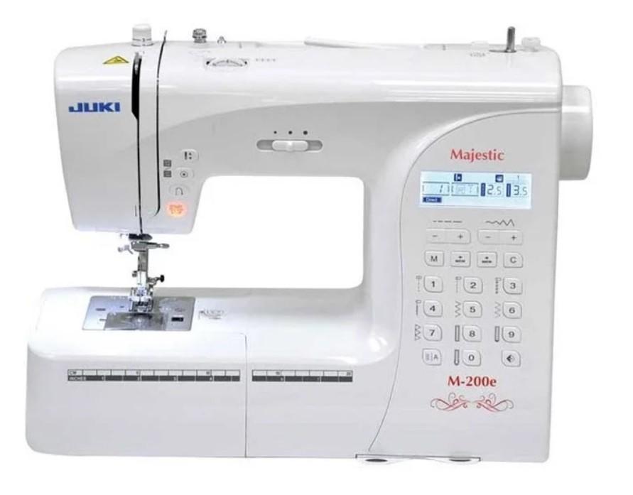 ТОП-5 швейных машинок для начинающих: Швейная машина Juki Majestic M-200E