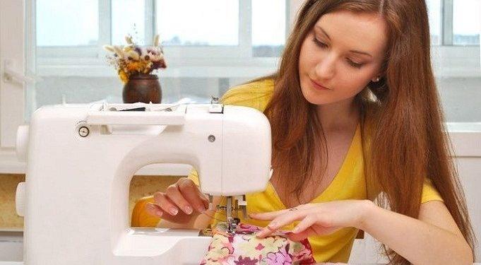 Как шить на швейной машинке - фото