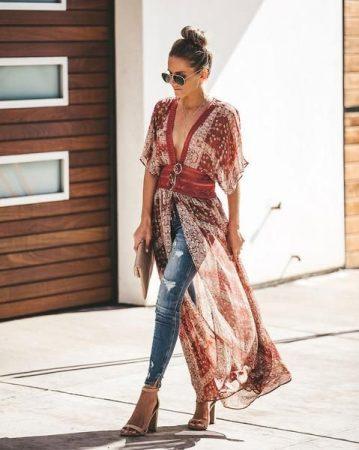 Бохо шик стиль в одежде
