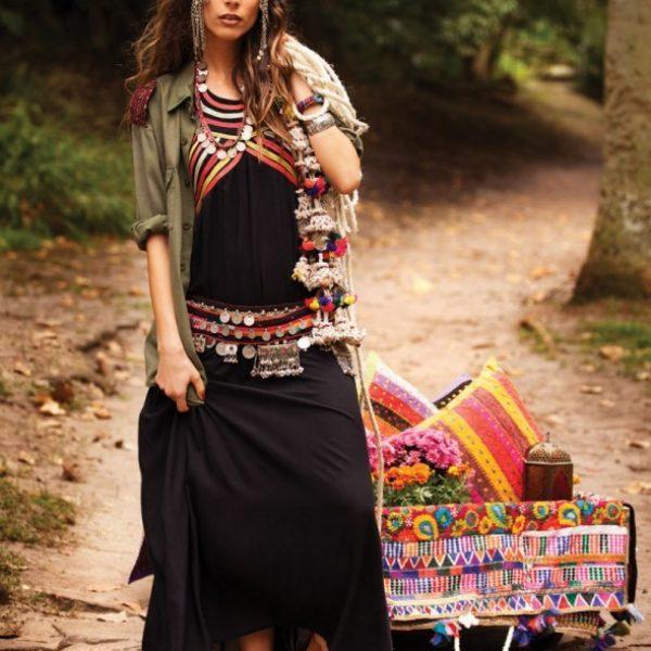 Gypsy boho - богемный цыганский стиль