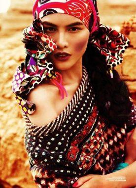 Gypsy boho - цыганский стиль бохо