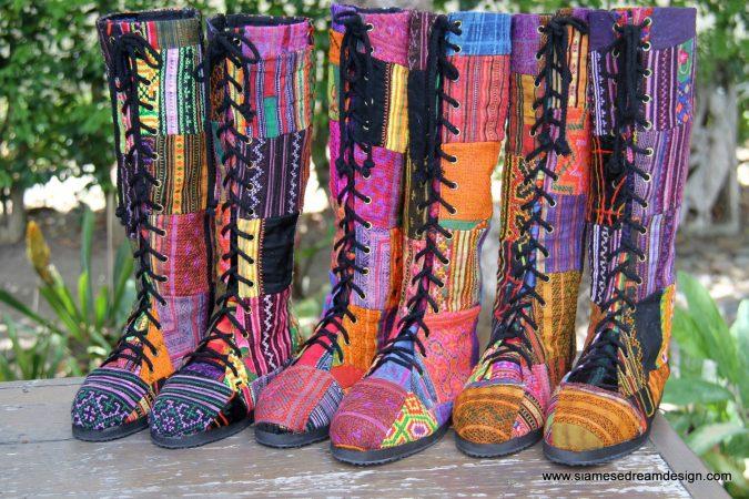 Обувь бохо фото