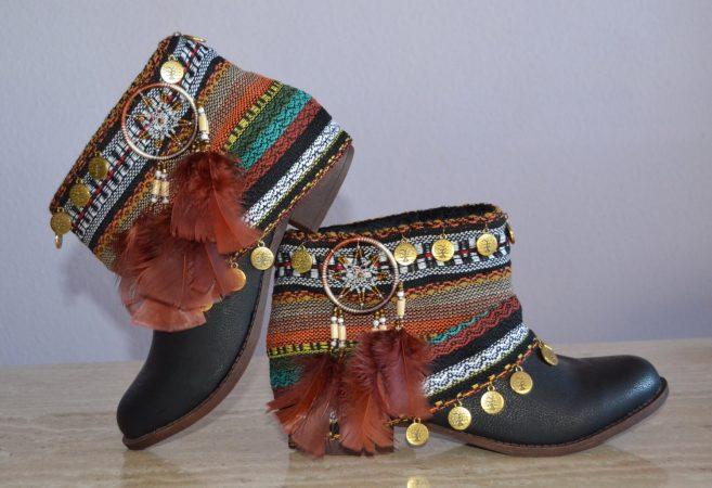 Обувь под стиль бохо