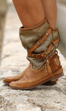 Одежда и обувь бохо