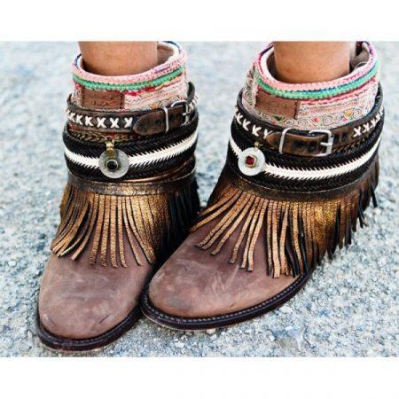 Стиль бохо какая обувь подходит