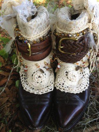 Стиль бохо обувь для женщин
