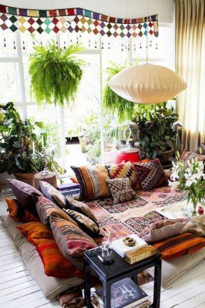 Стиль бохо в интерьере квартиры фото