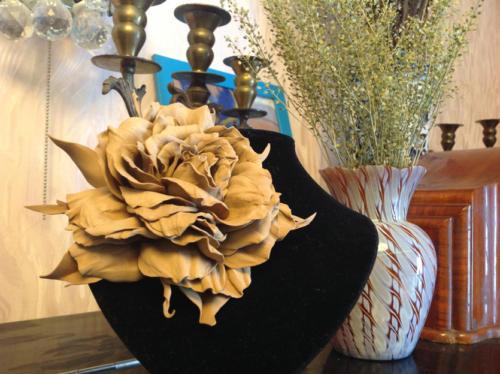 Объемные цветы из фоамирана