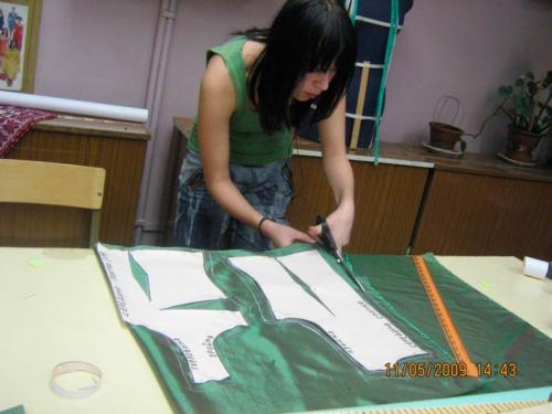Обучение кройке и шитью в Москве