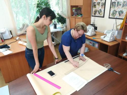 Учимся шить блузку базовая выкройка