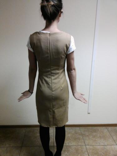 Кройка и шитье платья