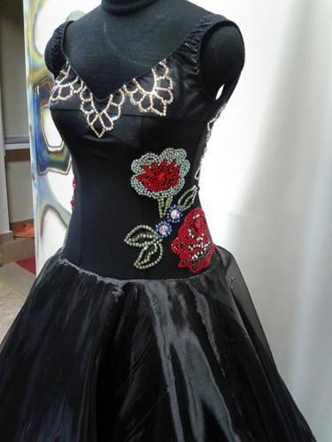Сшить платье для бальных танцев